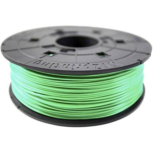 Bobina di filamento PLA, 600 g, verde per stampante 3D Junior Mini e Nano