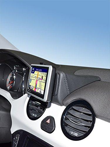 KUDA 294675 Halterung Kunstleder schwarz für Opel Adam ab 2013