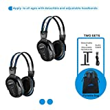 Best Infrared Headphones - 2 Pack of Wireless Car Headphones, Wireless Headphones Review