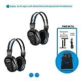 Best DVD Headphones - 2 Pack of Wireless Car Headphones, Wireless Headphones Review