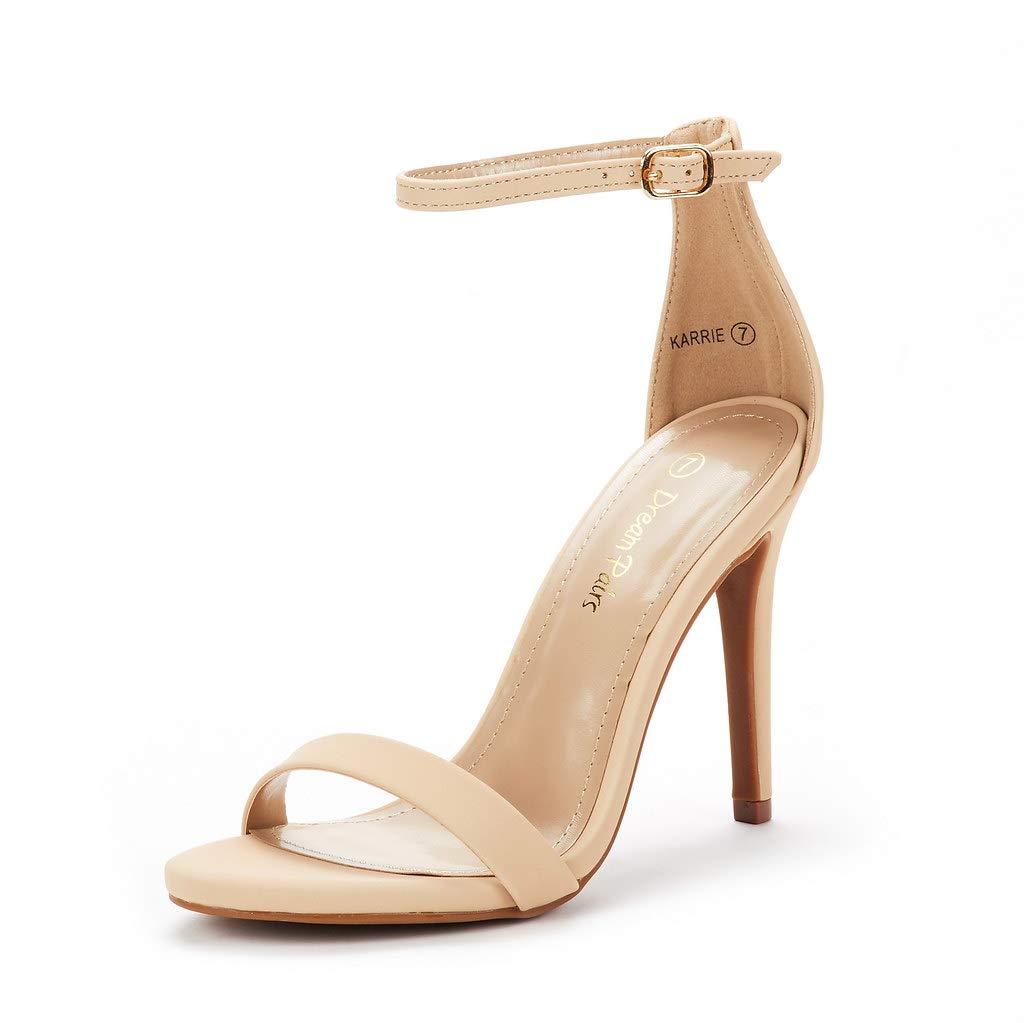 DREAM PAIRS Womens Stiletto Sandals