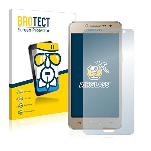 BROTECT Panzerglas Schutzfolie kompatibel mit Samsung Galaxy Grand Prime Plus - AirGlass, extrem Kratzfest, Anti-Fingerprint, Ultra-transparent