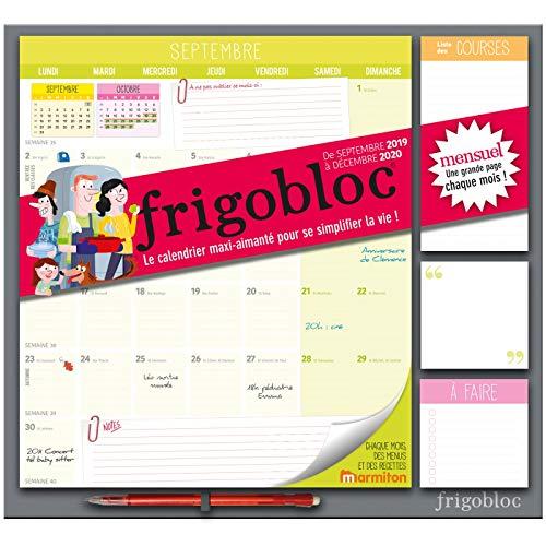 Frigobloc 2020 Mensuel