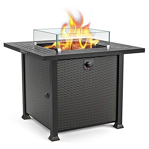 SNAN Propane Fire Pit Table