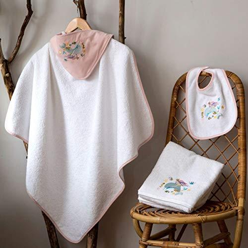 Tradition des Vosges Parure de Bain Enfant Ariela Enfant TU Blanc