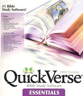 QuickVerse Essentials-PR-NKJV/KJV/MS/GW/Asv/Isv/Darby's New Translation/Young's Literal Translation/Weymouth Modern Speech