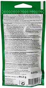 Beaphar - Friandises Rouletties à l'herbe à chat - chat - 44,2 g