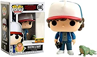 Funko Pop! Television #593 Stranger Things Dustin & Dart (Hot Topic Exclusive)