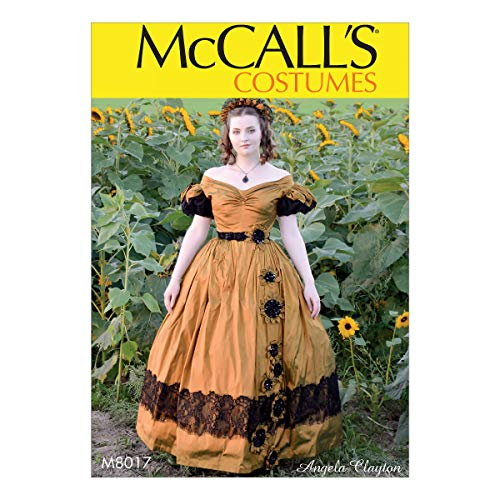 McCall's naaipatroon-M8017A5-Misses' kostuum, Papier, Wit, Diverse