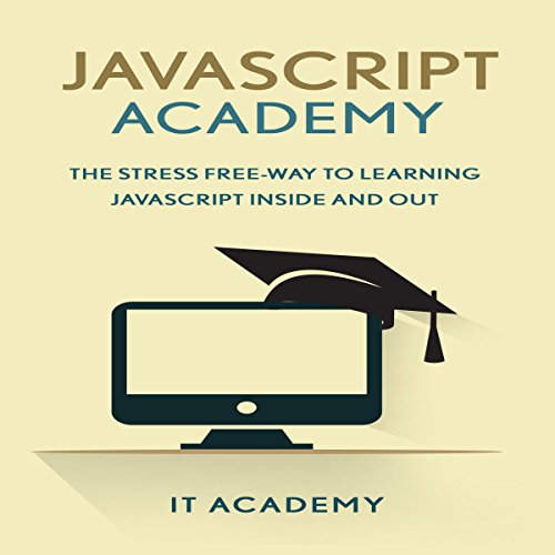 JavaScript: Academy audiobook cover art