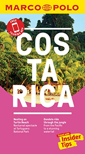 Costa Rica Marco Polo Pocket Travel Guide 2019 - with pull out map (Marco Polo Pocket Guides) [Idioma Inglés]