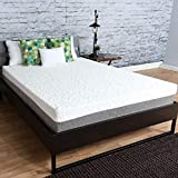 New Item TRAVEL HAPPY 10 INCH Graphite Gel Memory Foam Mattress for Medium Comfort with A Premium 8-Way Stretch Cover for More Luxurious Comfort (Queen 60 x 80)