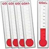 Juvale Goal Setting Wall Chart Thermometer (5 Pack)