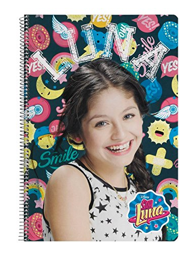 Disney Soy Luna Bloque, Cuaderno, Din A4