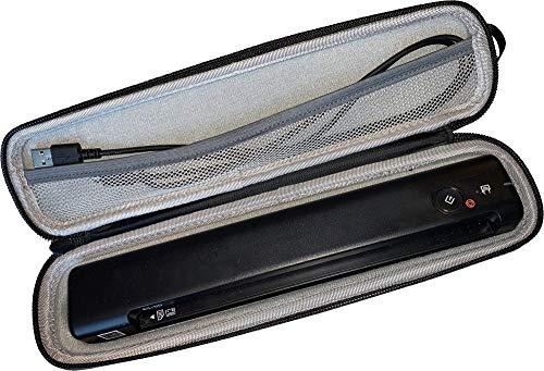 JOURIST Hartschalentasche für Epson WorkForce ES-50, ES-60W, DS-70, DS-80W mobile Scanner – für Reise und geschützte Aufbewahrung