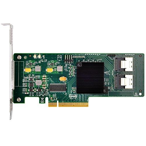 Silverstone Tek Server-Grade HBA 9211-8i Expansion Card with Dual SFF8087 Connectors ECS02