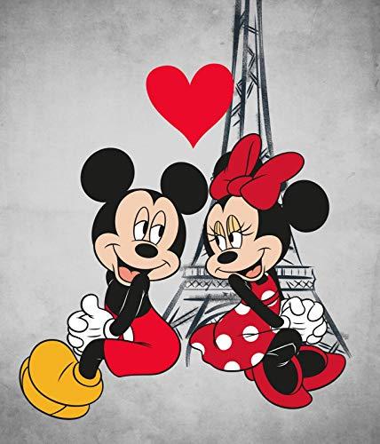 BrandMac Disney´s Minnie und Mickey Mouse Kuscheldecke 120x140 Polyester Fleece-Decke