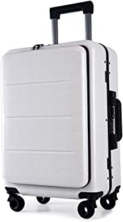 Roam.Cove フロントオープン スーツケース ビジネス 軽量 機内持ち込み ビジネスキャリーケース 静音 TSAロック 出張 高品質モデル シンプル おしゃれ