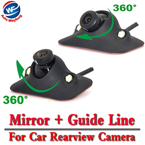 Auto Wayfeng WF® CCD Nachtsicht 360 Grad Auto Rückfahrkamera Reversing Backup Kamera 2LED