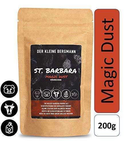 St. Barbara - Magic-Dust Gewürzmischung Grillgewürz BBQ-Rub für Fleisch Gemüse Rub Marinade Pulled Pork Ribs Steaks 200g