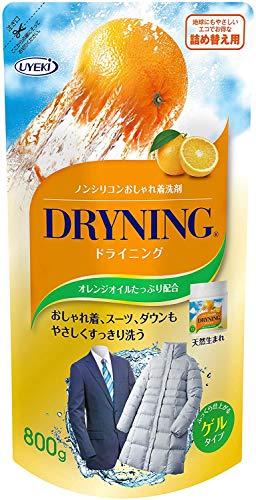 スマートマットライト 【大容量】ドライニング 洗濯洗剤 ゲルタイプ ノンシリコン 詰替 800g