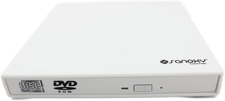 SANOXY Portable USB 2.0 Slim Free Shipping Cheap Bargain Gift External Combo Kansas City Mall Drive DVD ROM CD-RW