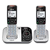 VTech VS112-2 DECT 6.0 Bluetooth 2 Handset Cordless Phone for Home with Answering