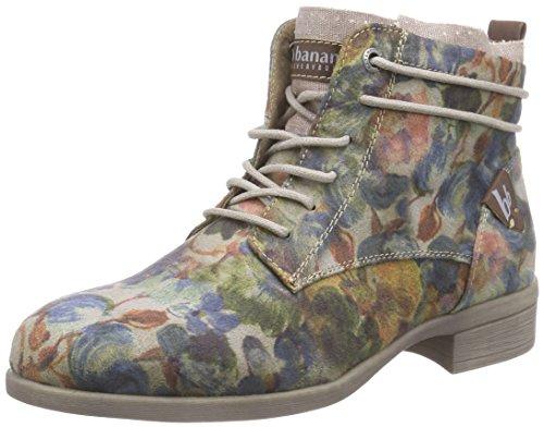 Bruno Banani Damen Stiefelette Desert Boots, Mehrfarbig (Grey Multi 299), 40