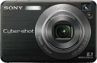 Sony Cybershot DSCW130/B 8.1MP Digital Camera with 4x Optical Zoom with Super Steady Shot (Black)