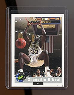 1992 Classic #1 Shaquille O'Neal LSU Tigers 1st Rookie Card Mint Ships in New Holder