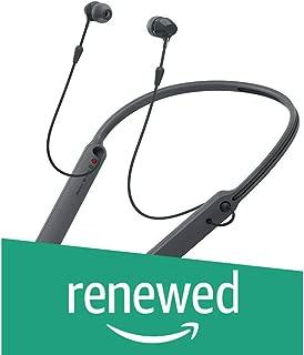 (Renewed) Sony - C400 Wireless Behind-Neck in Ear Headphone Black (WIC400/BZ)