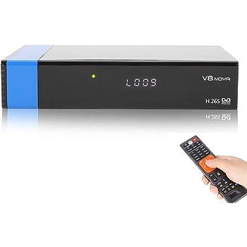 衛星チューナー VBESTLIFE WiFi 1080P高解像度 デジタルサテライトレシーバー USB 接続 64MB DVB-S2チューナー 衛星テレビ受信機(USプラグ)