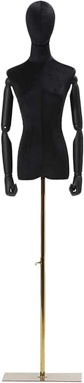 Professional Female Mannequin Torso Fort Worth Mall Body Head Limited price sale Form Dress for Clo