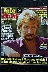 TELE LOISIRS 569 Chuck Norris Cover + 2 p. - David Bowie - Patrick Sébastien - 1997 01