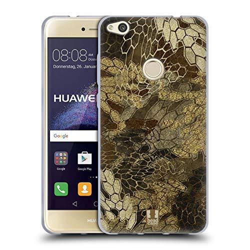 Head Case Designs Vista de Vuelo de Pato/Aves acuáticas Insignia de Camuflaje Hunting Carcasa de Gel de Silicona Compatible con Huawei P8 Lite (2017)