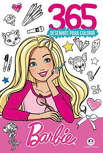 Barbie - 365 Desenhos para colorir