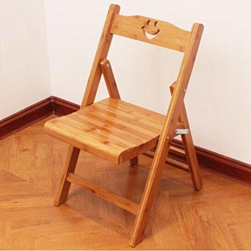 Tabouret en bois Pliant petite chaise petit tabouret maison tabouret occasionnel chaise/tabouret en bois massif en bambou