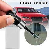 Liquide de Réparation de Verre,Réparation de Vitres Automobiles Ensemble de Trois Pièces pour Réparateur de Rayures Verre Réparer Vitre