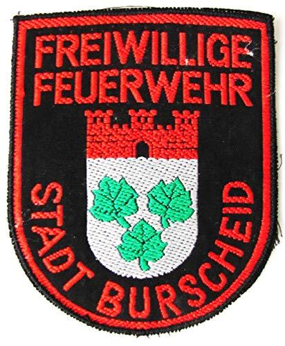 Freiwillige Feuerwehr - Stadt Burscheid - Ärmelabzeichen - Abzeichen - Aufnäher - Patch - Motiv 1