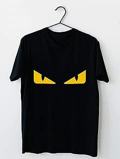 Fendi monster eye Cotton short sleeve T shirt, Hoodie for Men Women Unisex