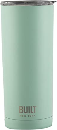 Built NY Double Wall Stainless Steel Vacuum Insulated Tumbler,  20-Ounce,  Mint