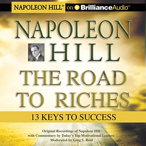 Napoleon Hill - The Road to Riches audiobook cover art
