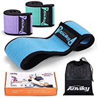 3-Pack Anviky 3 Resistance Level Workout Booty Bands