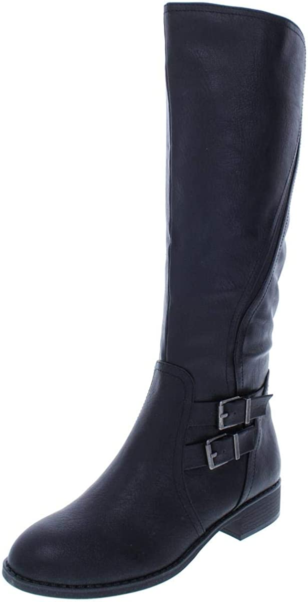 Style & Co. Womens Milah Closed Toe Knee High Fashion Boots, Black, Size 5.5