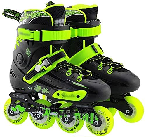 LCNING Roller Patins Rouleaux en Ligne Skate Hommes et Femmes Skates Adultes Skates collège Hommes et Femmes Chaussures Fantaisie Patins Roller Chaussures à roulettes pour Les Femmes et Les Hommes