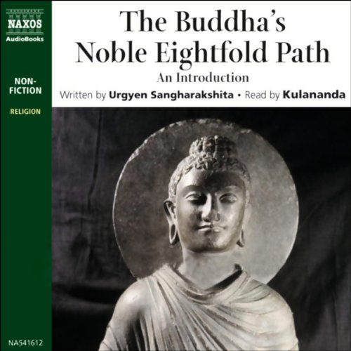 Buddha's Noble Eightfold Path audiobook cover art
