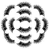 磁気つけまつげ 3Dまつげ セット 自然 長い 柔らかい 快適 カールしたまつげ ナチュラル まつげカーラー 濃い 初心者 再利用可能 化粧品 高級7Paire 3Dつけまつげふわふわまつげロングナチュラルパーティーメイク