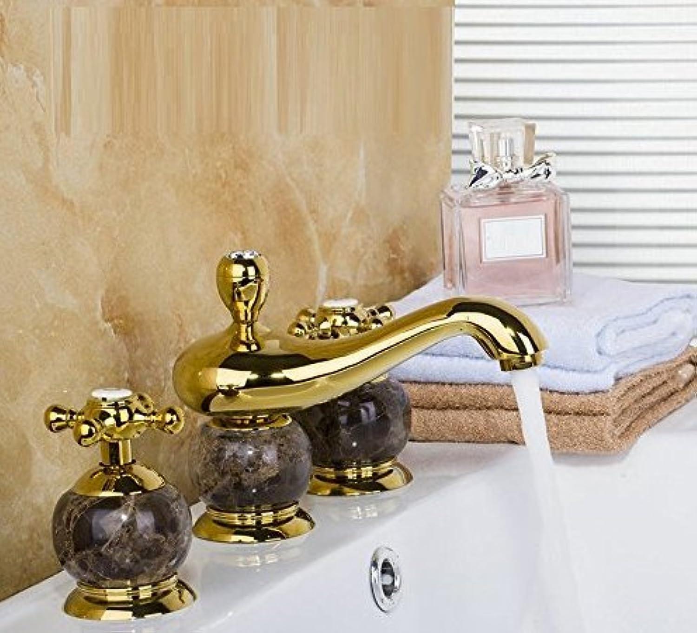 Becken Wasserhahn Doppelgriff Badewanne Wasserhahn Europischen Deck Montiert Dusche Becken Mischbatterie Diamant & Jade Bad Wasserhahn