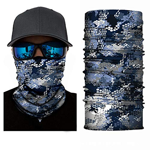 Review DianDianwl 3D Camouflage Bandana Buffs Neck Gaiter Headband Cycling Fishing Balaclava Mask Sc...