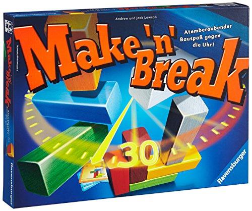 Ravensburger Make 'N' Break - Juego de tablero (Multi, 27 cm, 37 cm, 6 cm)